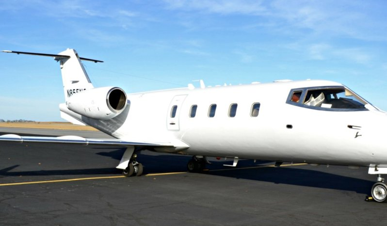 Learjet 55 full