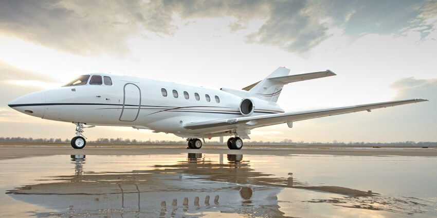 Hawker 800xp advertised for sale