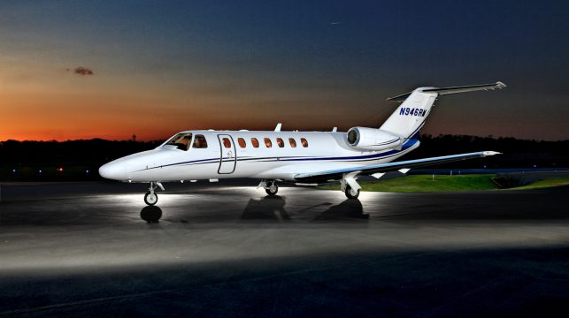 used business jet Cessna CJ3 for sale
